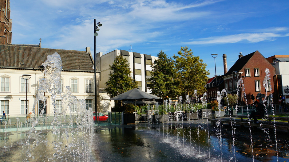 Fontein centrum Tilburg