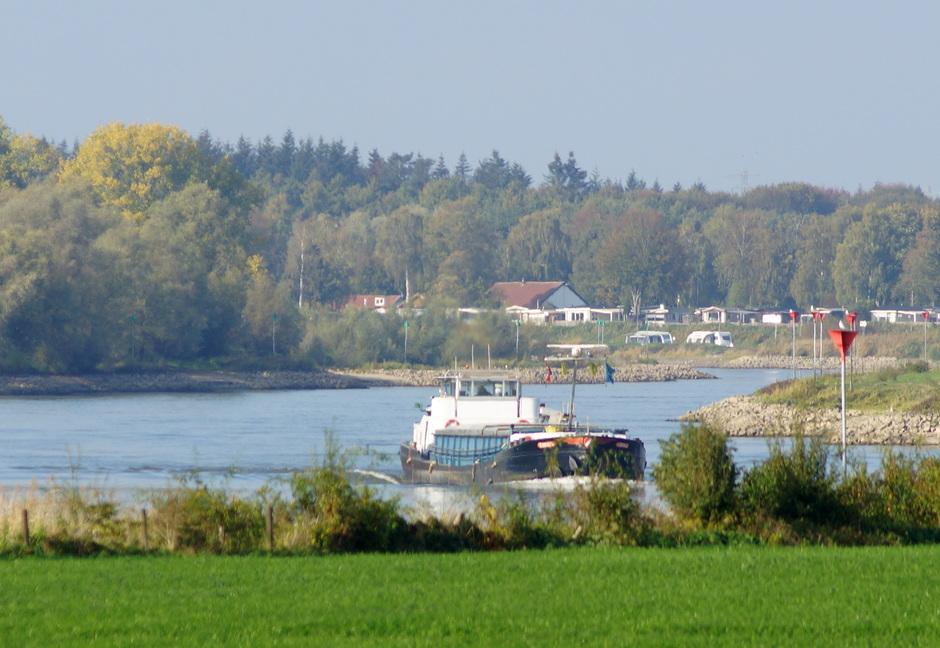 Lage waterpeilen in de rivieren