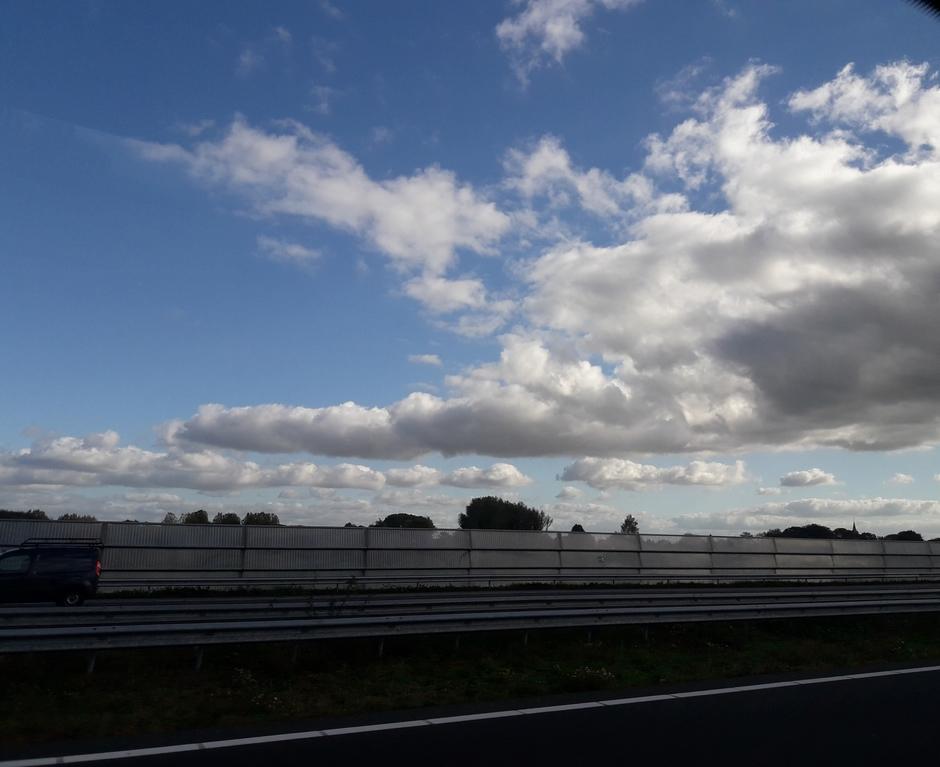Palet van wolkenluchten