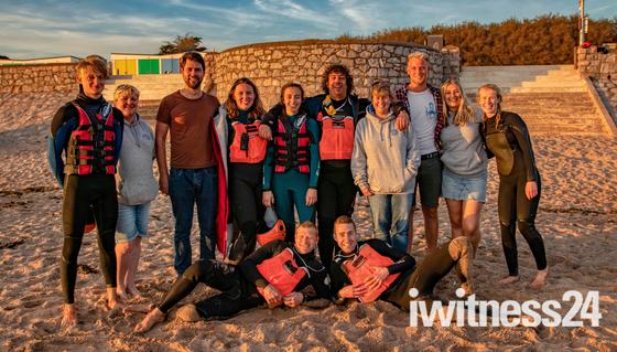 Exmouth Beach Rescue IRB Team