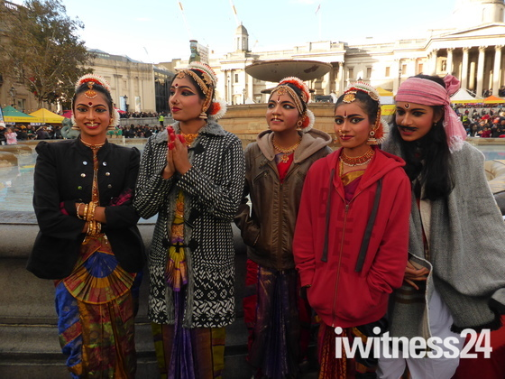 Diwali Celebrations in Trafalgar Square London