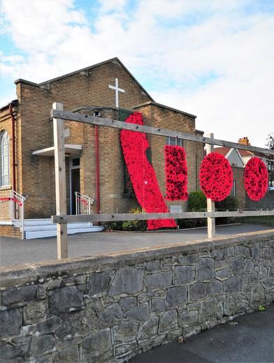 Poppies at Milton Methodist Church