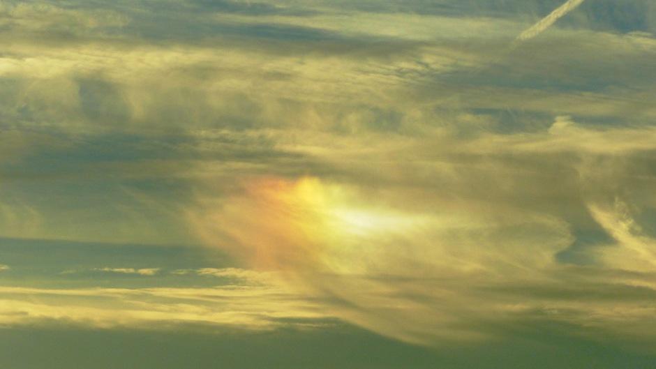 kleur in de lucht