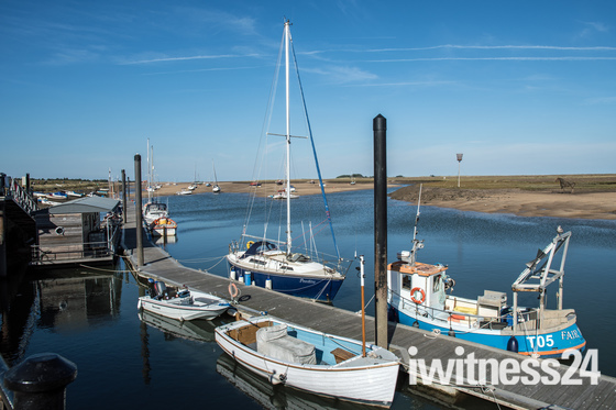 Photo Challenge: Boats in Norfolk