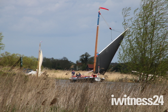 Boats in Norfolk: Wherry