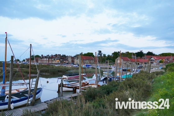 LOOKING TOWARDS BLAKENEY QUAY
