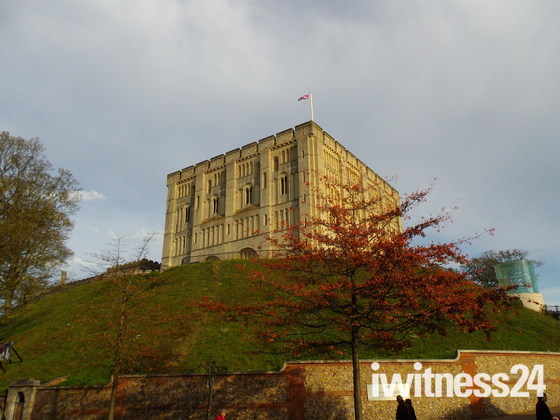 AUTUMN COMES TO CASTLE MEADOW