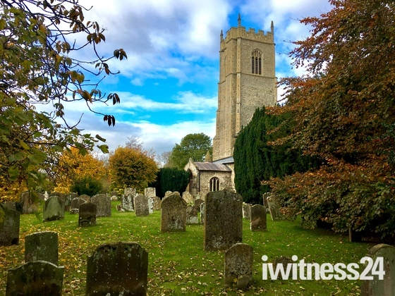 St.Botolphs in autumn colours