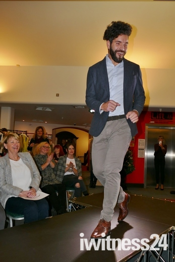 Fashion show from local shops at Ipswich Library 08/11/2018