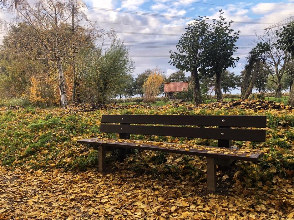 Neem plaats en geniet van de herfst