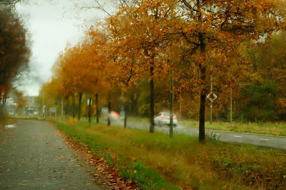 Opspattende regen