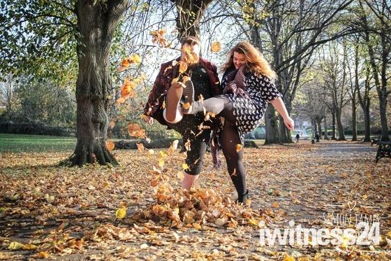 Romantic walk in Ashcombe park