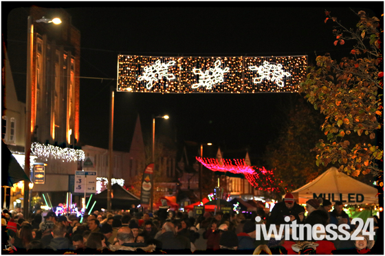 Letchworth Christmas switch on