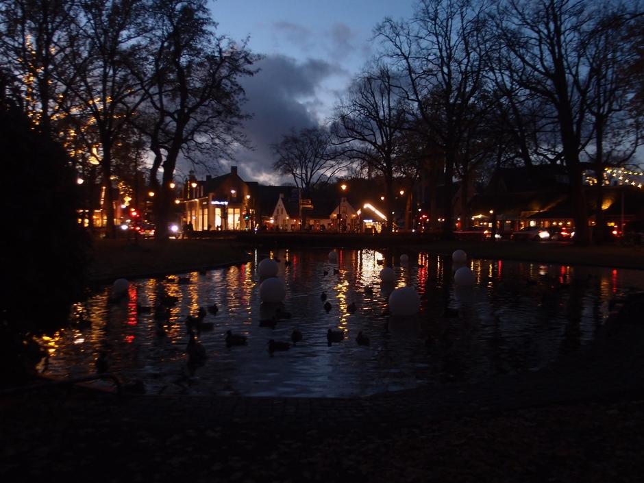 Avond in Laren Noord-Holland