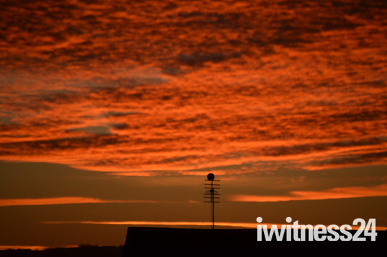 Sunrise over Weston super Mare