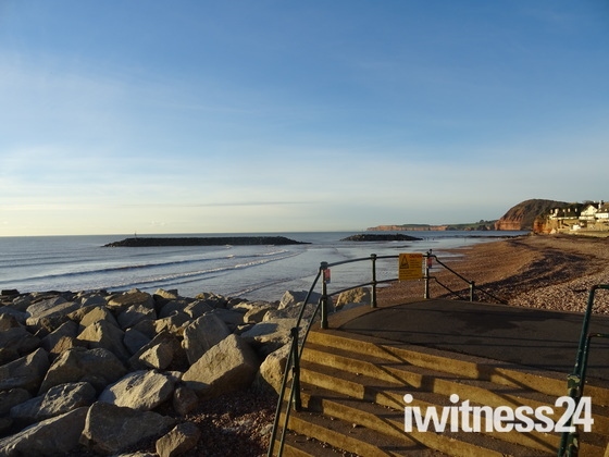 A sunny morning in Sidmouth