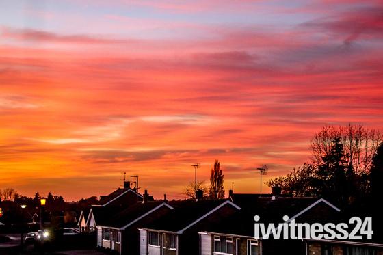 Sunsets over Fakenham