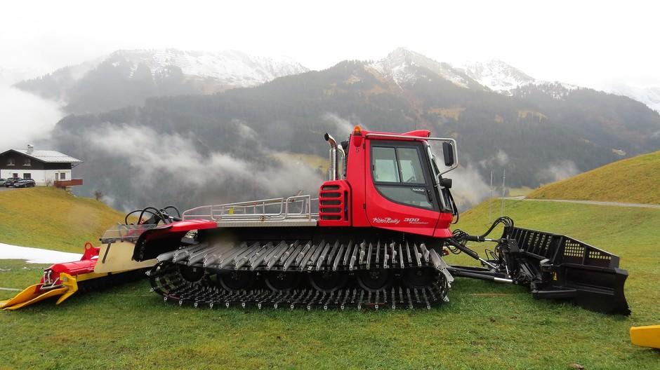 Alpen: klaar voor de sneeuw