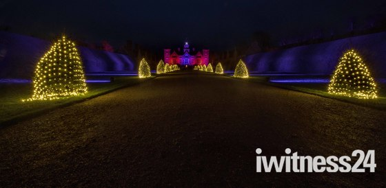 Blickling Hall at Christmas, The Drive.