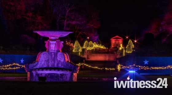 Blickling Hall at Christmas, The Gardens