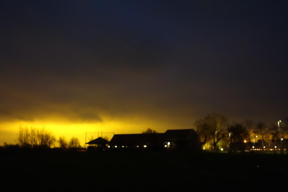 Mooie zonsopkomst? Nee, lichtvervuiling