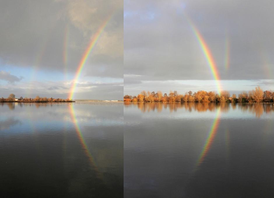 Regenboog Reeuwijkse Plassen