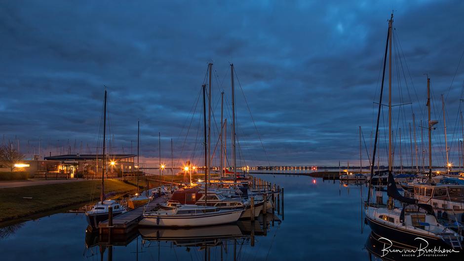 Blauwe uurtje marina Herkingen
