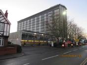 St. Giles Hotel Heathrow on a sunny December morning
