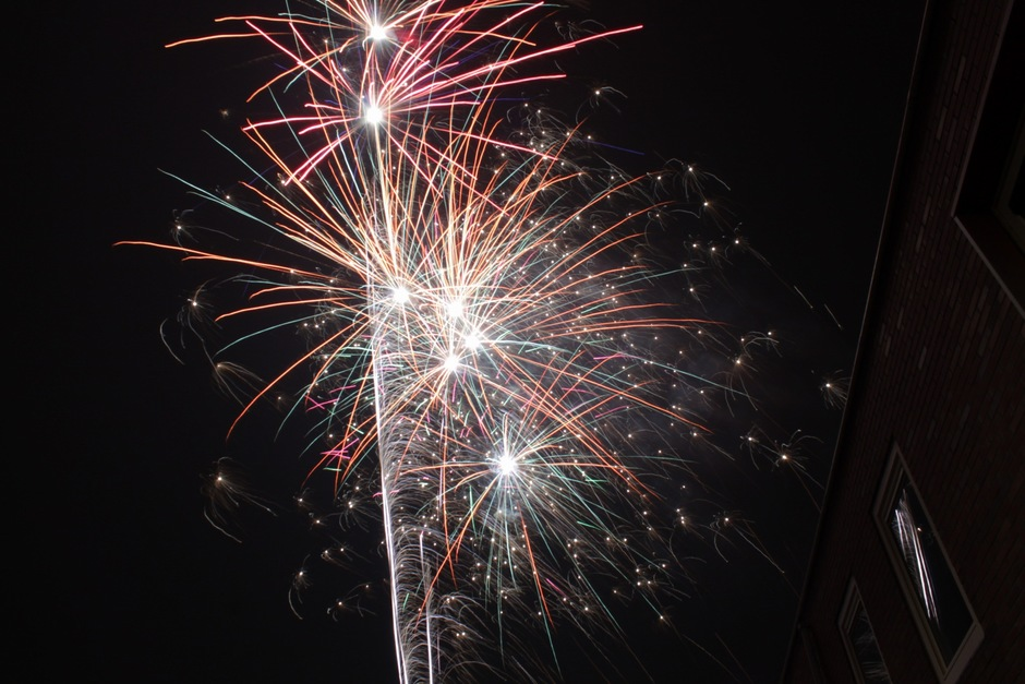 Verbeeldend vuurwerk