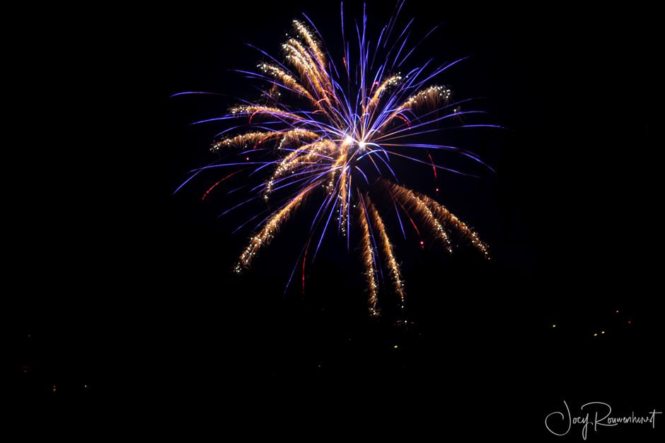 Vuurwerk boven Apeldoorn