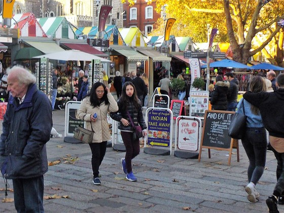A WALK AROUND NORWICH MARKET PART 5, Final part.