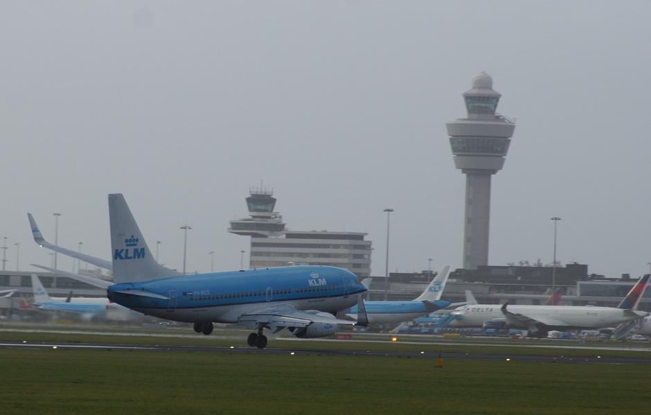 Pittige landingen vandaag op Schiphol