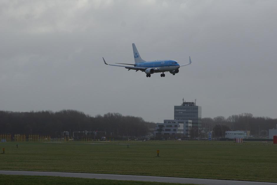 Pittige landingen op Schiphol