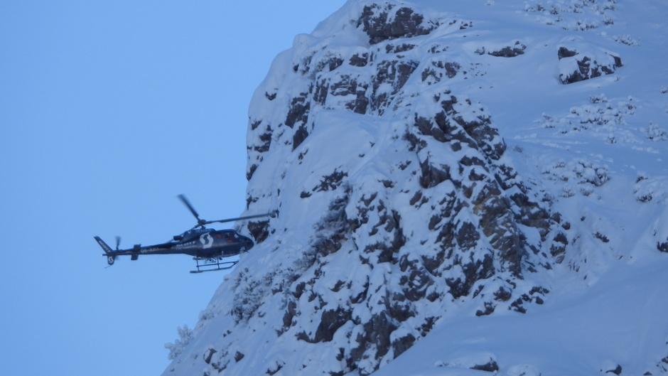 alpen; lawines neerhalen