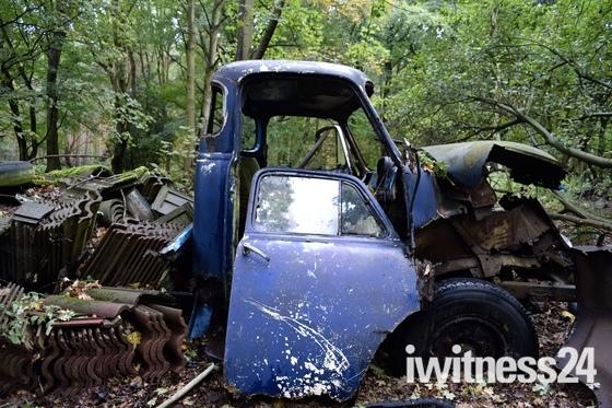 Abandoned hevingham scrapyard