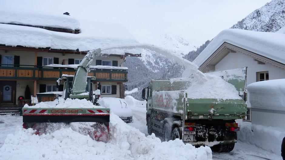 Alpen: sneeuwruimen