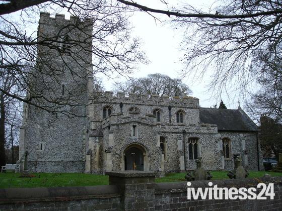 St Faith Church, Kelshall, Royston