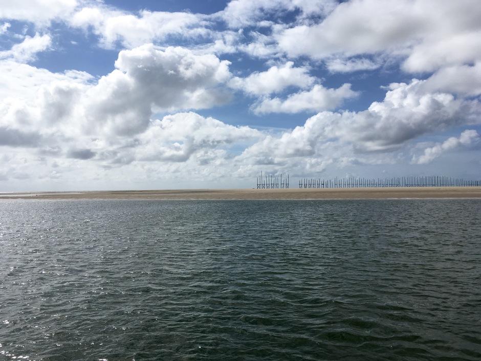 Vlieland vanaf het water