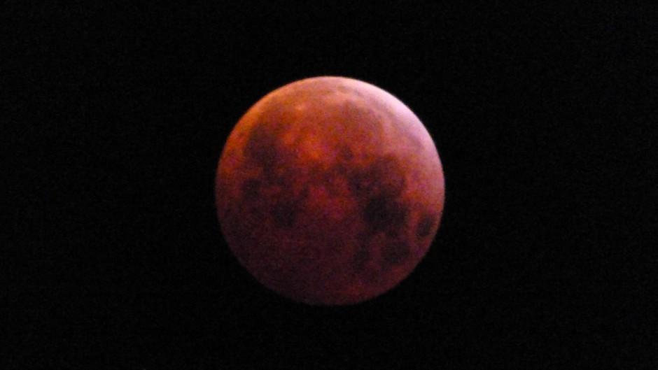 Tijdstip 06:20 uur Super-bloed-wolfmaan
