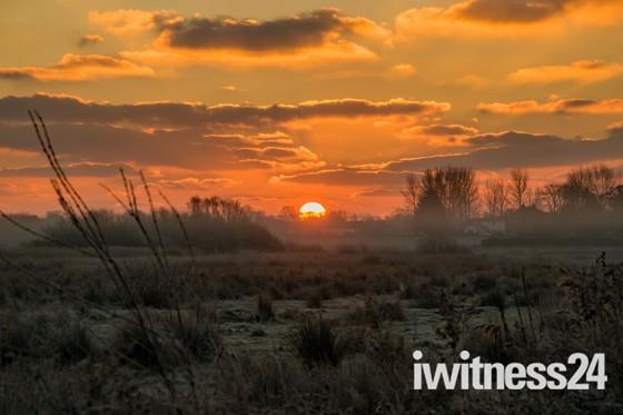 frosty sunday morning
