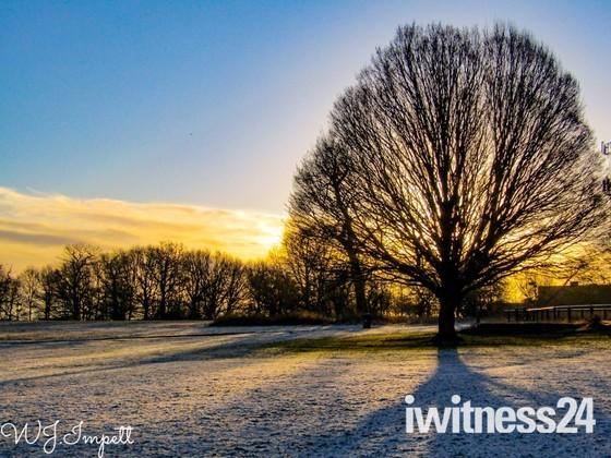 Harold hill as a winter wonderland