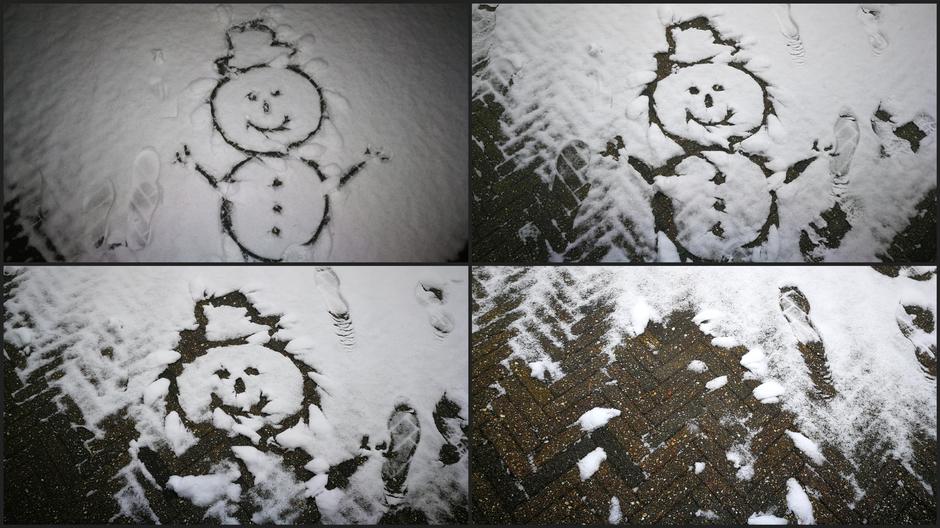 Van sneeuwpop naar dooi in een halve dag