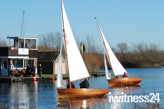 Sailing at Whitlingham