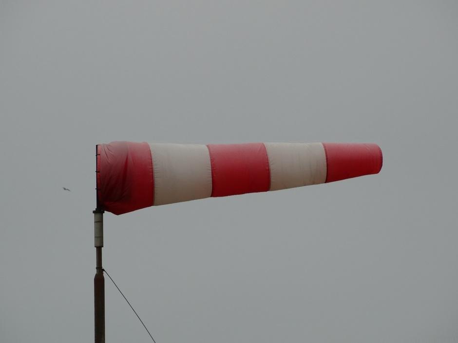 Veel wind vandaag
