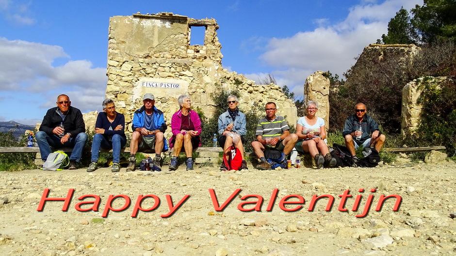prachtige zonnige Valentijnsdag