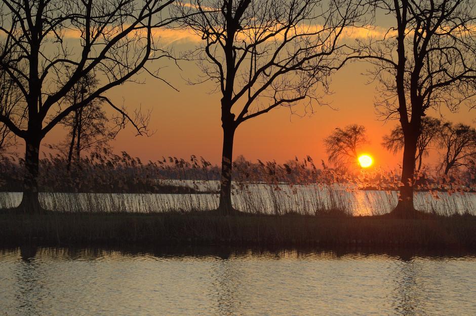 De mooie Zonsopkomst op Zaterdag 16 Februari!