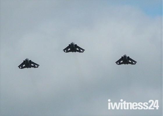 Tornado farewell flypast at RAF Honington