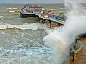 High Tide Cromer Pier