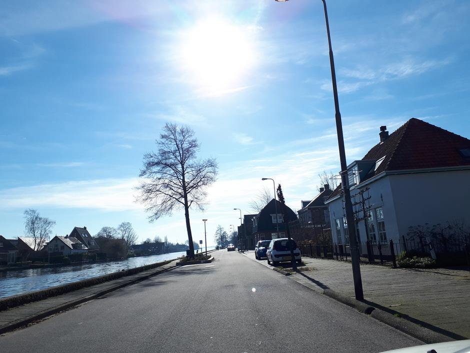 zo volop zomer in de straat