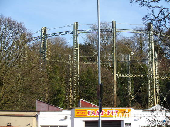 THE END OF AN ERA -the gasometer on gas hill